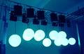 Venta al por mayor de club nocturno led decoración de bolas de elevación de luz para la etapa/bar/discoteca/partido/de la boda/vocal mostrar/concierto/de exposición
