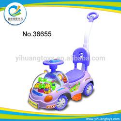 4 wheel kids plastic car slide scooter carrier ride on car toy