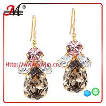 ER4652 J&M Fashion desert rose earrings