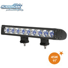 New design double mount bracket blue color waterproof Cree 3W / 5W led light bar jeep