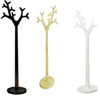 Wooden Clothes Rack Fashionable Tree Shaped Coat Rack