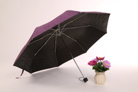 dot printed fabric fold umbrella