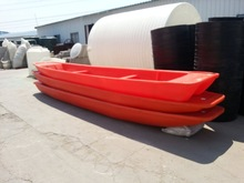 4 meters Cheap used small plastic fishing boat for sale