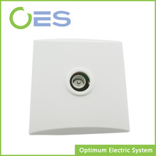 Wall surface mounted tv socket for European market with ce, vde,NF certification