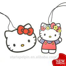 advertising hanging paper top promotional japanese custom car freshener