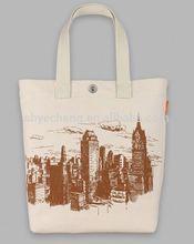 Custom environmental green cotton shopping bags/cotton tote bag/canvas cotton bag manufacturer