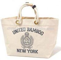 100% cotton shopping bag/cotton tote bag/canvas cotton bag manufacturer (YC3424)