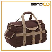 2015 Hot Design High Quality Canvas Travel Bag For Fashion Man