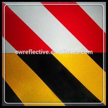 Double couleur côtés panneaux de signalisation, Double couleur bande réfléchissante pour véhicule et camion de sécurité