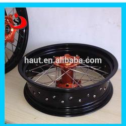 KTM SXF350 Off Road Motorbike 17x3.5 Inch, 17x4.5 Inch, 17x5.0 Inch Wheel For Supermoto