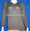 V irregular nối cổ áo len mùa đông cho phụ nữ cũ
