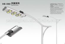 UL DLC CE ROHS EMC LVD LED Street Light, Philip-chip&Meanwell-driver High Lumen Solar Post Lights