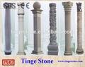 columna de mármol granito pilar diseños de la fábrica de la fabricación tmg