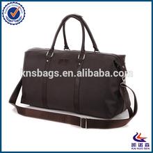 Mature smart men large travel duffel bag made in oxford fabric