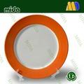 La sublimación de cerámica de color placa de borde/foto de la sublimación placa/plato
