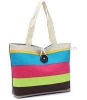 Custom natural cotton shopping bag/cotton tote bag/canvas cotton bag manufacturer (YC3410)