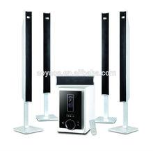 wooden 5.1 home theatre sound speaker system