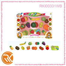 Plastic cutting vegetables and fruits toys cooking play set