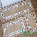 baratos tamaño personalizado marrón lavable y las alfombras orientales