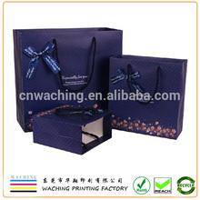 Custom paper euro tote bags