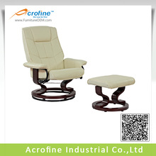Acrofine ARL 8503 round wooden base swivel chair base for recliner