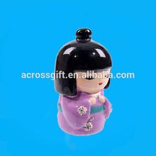 Amor japonês boneca de cerâmica