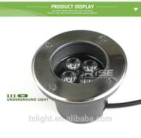 2014 hot sale make in china square floor deck LED Buried light IP67 DC 12v LED inground light