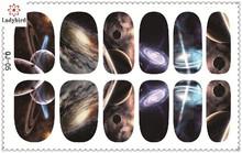 summer holidy sky toe nail sticker /nail art