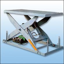 1000 X 2000 Electric One Type 2-Cylinder Hydraulic Scissor Arm Lift Platform Table