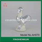 AH070 wholesale Garden decoration ceramic chicken sculpture