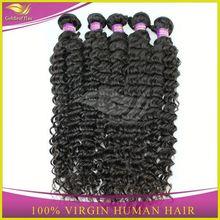 raw unprocessed bohemian human hair weave curly