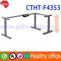 electric height adjustable desk frame beauty salon reception desks lifting table frame