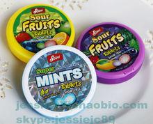 Sour Fruits/Super mints Sugar Free mints candy