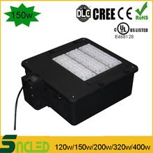 150w led shoebox light pole mount led shoebox light DLC UL Listed Led Shoe Box Light