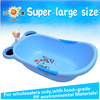 China colorful PP large plastic simple bathtub