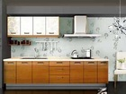 Commonly used white lacquer finish kitchen cabinet with MDF door