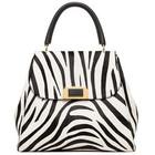 zebra design special pu leather bag