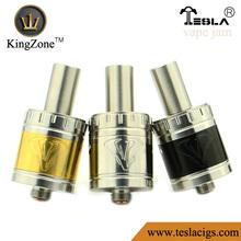 ShenZhen Wholesale factory RDA atomizer Vape Jam SS / gold / black airflow ring RDA Vape Jam