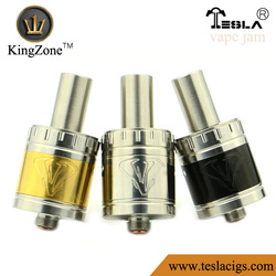 ShenZhen Wholesale factory RDA atomizer Vape Jam SS / gold / black airflow ring RDA Vape Jam