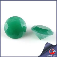 6.5mm Round Brilliant Cut Jade Gemstone Beads