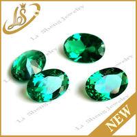 Bangkok synthetic loose nano gems ,green cubic zirconia nano gems