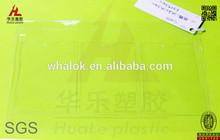 custom clear vinyl card holder with 3 sleeves