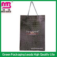 free logo design branding of matt finish paper shopping bag