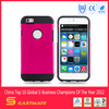 wholesale 4.7 inch super slim pc +tpu colorful cellphone case for iphone 6