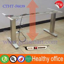 adjustable computer desk electric height standing desk frame adjustable height metal table legs