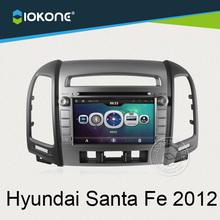"""OEM 7"""" in dash car DVD Multimedia player GPS navigation for Hyundai Santa Fe 2012"""