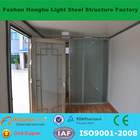 Chinese TUV Rheinland certified supplier export insulated prefabricated container house