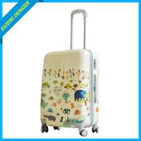 HardSide 4 Wheel Spinner amber luggage,3 pcs set luggage bag