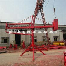 12m/15m/18m manual mobile concrete placing boom spider type