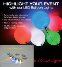 New Products Waterproof Mini LED Wedding&Party Balloon Light
